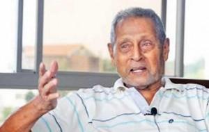 Cricket legend Stanley Jayasinghe felicitated