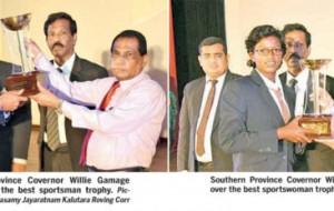 Southern Province school sports stars felicitated-Narayanasamy Jayaratnam Kalutara Roving Corr