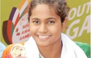 Kimiko Raheem won multiple Gold Medals at South Asian Games