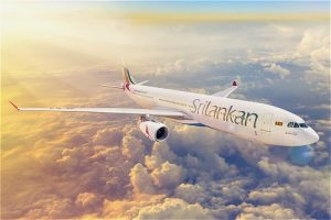 Notice from SriLankan Airlines for passengers travelling to UK