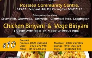eLanka | SCC – Sri Lankan Food Take Away on Saturday the 3rd July
