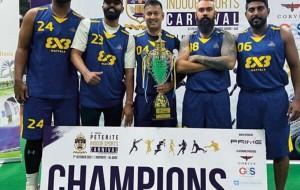 Antonians in UAE excel in 3×3 basketball