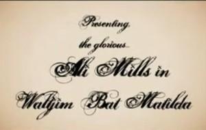 Waltzing Matilda Territory style – Ali Mills